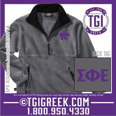 TGI Greek - Sigma Phi Epsilon - Homecoming Jackets - Kansas State Homecoming  #tgigreek #sigmaphiepsilon