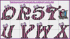 Monograma dracula baby monster High by Dinha
