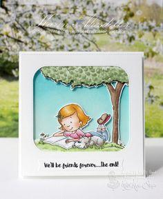 Peppermint Patty's Papercraft: Kraftin Kimmie Guest - Release Week - Reading Lexi