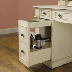 Neat idea for bathroom cabinet