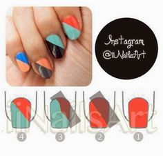 imgb1566835fe964828392aedbe68881beb how to make nail art For yourself   31new shape