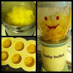 blog on Baby Bullet...the best way to make homemade baby food!