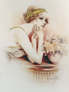 Buy 'Solange Oil on Canvas' by Sara Moon as a Greeting Card. Oil on Canvas by Sara Moon Featured in the Days Gone By Calendar Sarah Moon, Vintage Pictures, Vintage Images, Etiquette Vintage, Art Manga, Moon Art, Portrait Art, Vintage Portrait, Vintage Beauty