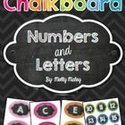 These Chalkboard Numbers and Letters come with colorful chevron backgrounds! The letters are perfect for your classroom word wall! The numbers can ...