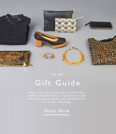 COUVETURE AND THE GARBSTORE GIFTGUIDE