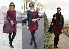 vestido pra usar no inverno com meia calca