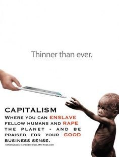 Capitalism...this is our life in the USA.....