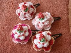 Cute crochet goods made remains Hirosaki crochet instructor egg Izumi ... | image of the work list