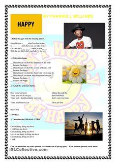 Happy- by Pharrell Williams