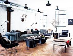 Look We Love: Luxe Industrial via @MyDomaine
