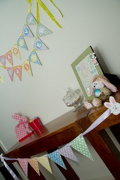 Easter Decoration ~ #Free Printable Bunting