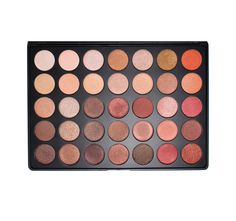 Morphe 35OS Shimmer Color Nature Glow Eyeshadow Palette - Morphe Brushes