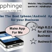 Apphinge | App Development portal   Anyone can make an app  (No Coding Needed)