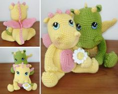 Amigurumi Baby Dragon Crochet Pattern Video Tutorial