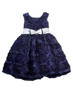 Rare Editions Toddler Girls 2T-4T Navy Soutache Roses Silver Bow Dress, http://www.amazon.com/dp/B00GLCLSQQ/ref=cm_sw_r_pi_awdl_N8KKsb0G61YK2