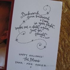great christmas card quote...