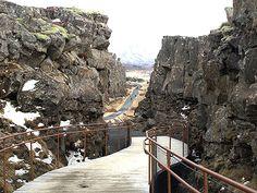Island, Þingvellir: Treffpunkt der eurasischen und nordamerikanischen Kontinentalplatten