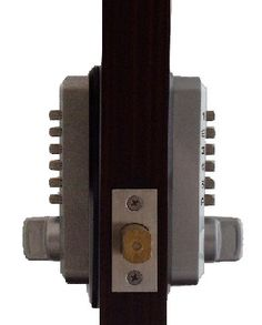 Secure a door from the inside and out with the Lockey double sided keyless deadbolt lock! This compact lock has interior and exterior keypads. Keyless Deadbolt, Keyless Locks, Entry Door Locks, Gate Locks, Door Knobs, Door Handles, Side Gates, Electronic Lock, Oil Rubbed Bronze