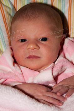 Mammal girl newborn Caroline and papa dearest Cosette