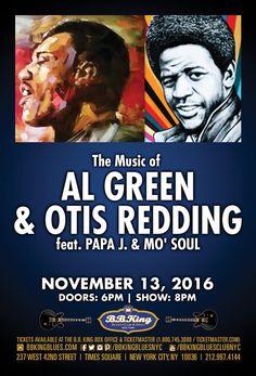 The Music of Al Green & Otis Redding feat. Papa J. & Mo' Soul (11.13.16)