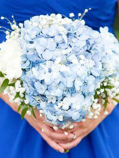 15 Gorgeous Hydrangeas Wedding Bouquets | TheKnot.com