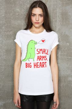 Gemma Correll Small Arms Big Heart Tee