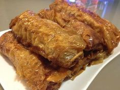 Yummy Mungbean: 鲜竹卷 Minced Pork wrapped in Bean Curd skin Tofu Recipes, Asian Recipes, Cooking Recipes, Chinese Recipes, Chinese Meals, Prawn Recipes, Keto Recipes, Cooking Chinese Food, Asian Cooking