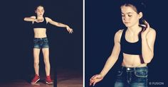 This amazing 12-year-old girl mastered the art ofdancing using only YouTube