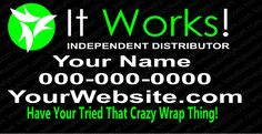 It Works Car Decal, It Works Vinyl Car Window Decal, Custom Window Decal, Custom Car Decal, Vehicle Decal,   ID: Design1 by KreativelyKustom