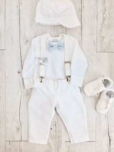 Baby boy Baptism outfit white onesie suspenders and by RaphaelJr Boy Baptism Outfit Catholic, Baby Boy Baptism Outfit, Baby Baptism, Baby Boy Suspenders, White Bodysuit, Long Sleeve Bodysuit, Pants Outfit, Boy Outfits, Photo Shoot