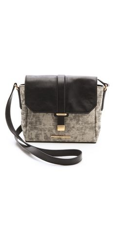 Marc by Marc Jacobs Natural Selection Distressed Mini Messenger | SHOPBOP