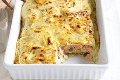 lasagnes au saumon Weight Watchers, recette d'un bon petit plat complet apprécié par tous, facile et simple à réaliser pour un