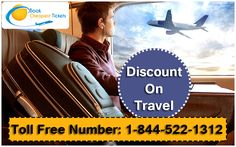 Get exclusive discounts on both #Domestic#International flights. Book now! Call on 1-844-522-1312
