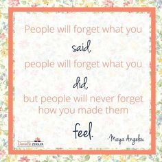"""""""People will forget what you said, people will forget what you did, but people will never forget how you made them feel."""" -Maya Angelou ---- Inspiring Quotes to Celebrate Women's History Month Inspirational Quotes For Women, Inspiring Quotes About Life, Woman Quotes, Life Quotes, Good Morning Quotes For Him, Self Made Millionaire, Maya Angelou Quotes, Word Board, History Quotes"""