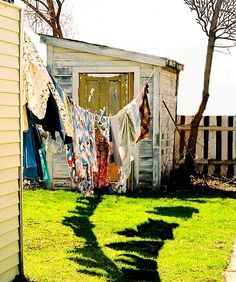 wash on the line by Zama Ree Do, via Flickr