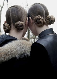 After Miu Miu F/W 2013 #hairstyle