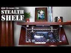 How to make a Picture Frame Secret Hidden Gun Safe, easy DIY - YouTube