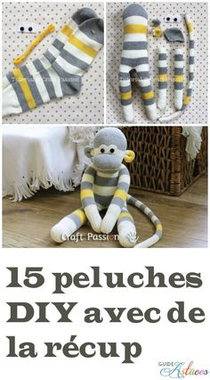 Animals 652388695992632550 – 15 peluches DIY avec de la récup Source by kingsb… Animals 652388695992632550 – 15 DIY stuffed animals with recycled waste Source by kingsboxshow Diy Sock Toys, Diy Plush Toys, Sock Crafts, Diy Toys, Sewing Crafts, Sewing Projects, Diy Projects For Kids, Diy For Kids, Diy Kleidung Upcycling