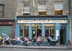 London Spitalfields - Oct 2005 - I Love a Bit of S & M by gareth1953 Alive and Well and Much Better, via Flickr