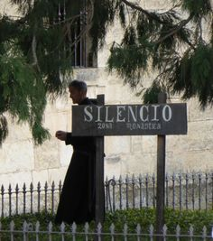 Benedictine monk, Silos.