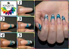 Step by step nail art