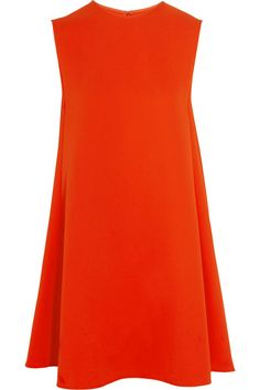 McQ Alexander McQueen | Crepe mini dress | NET-A-PORTER.COM