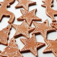 Gingerbread themed salt dough Christmas ornaments. Cheap and easy to make, kids can help too!