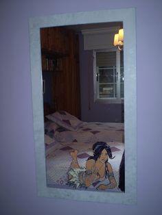 casiopea espejos pintados a mano