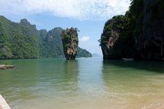 Thailand Region Phang Nga James Bond Island - Früher sicherlich mal ein tolles Ausflugsziel (jedenfalls für mich)