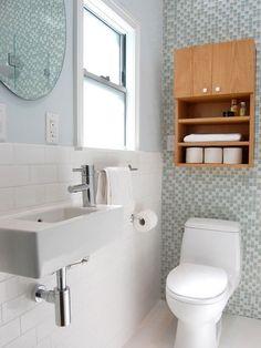 Banheiros Pequenos - Decoração