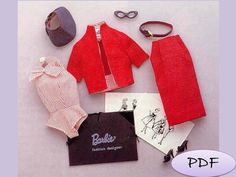 Vintage+Reproduction+for+Barbie+Dress++Sewing+by+GavryDollsPattern,+$1.90