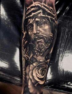 Tattoo crazy max #cristo#tattoo