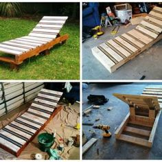 Pallet Garden Lounger                                                                                                                                                     More
