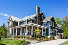 New homes for sale in Hallsley in Richmond, VA, by custom home builders, including arts and crafts, tutor, and Victorian architecture.